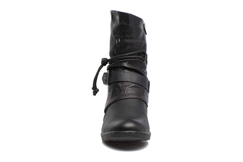 Bottines et boots Rieker Annie K1480 Noir vue portées chaussures