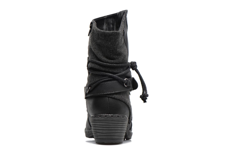 Bottines et boots Rieker Annie K1480 Noir vue droite