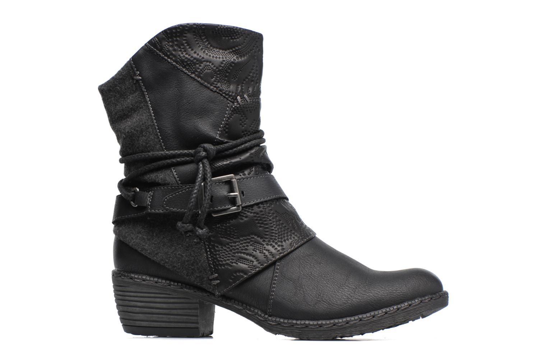 Bottines et boots Rieker Annie K1480 Noir vue derrière