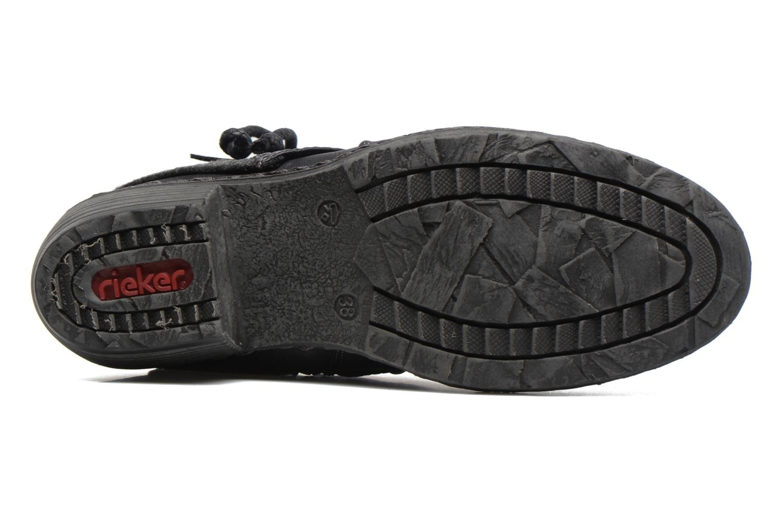 Bottines et boots Rieker Annie K1480 Noir vue haut
