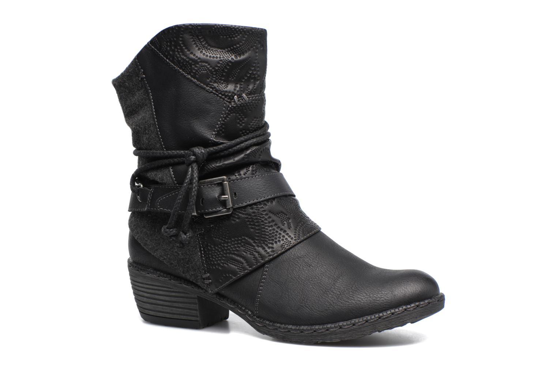 Bottines et boots Rieker Annie K1480 Noir vue détail/paire