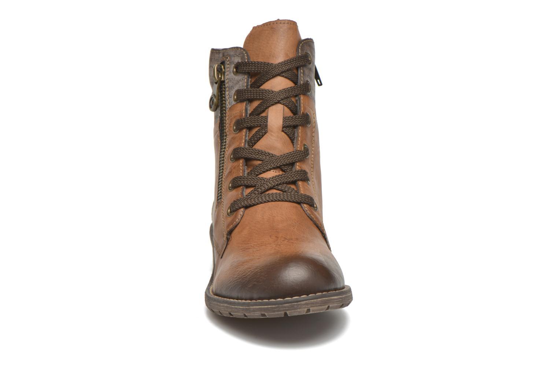 Bottines et boots Rieker Lea K3468 Marron vue portées chaussures