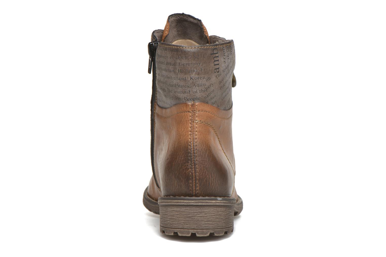 Bottines et boots Rieker Lea K3468 Marron vue droite