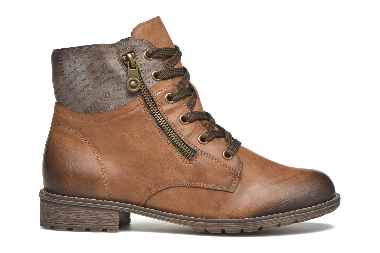 Bottines et boots Rieker Lea K3468 Marron vue derrière