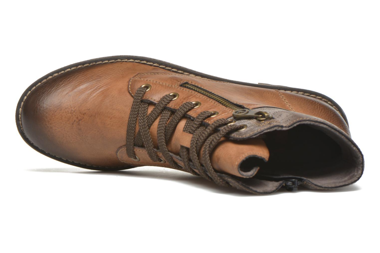 Bottines et boots Rieker Lea K3468 Marron vue gauche
