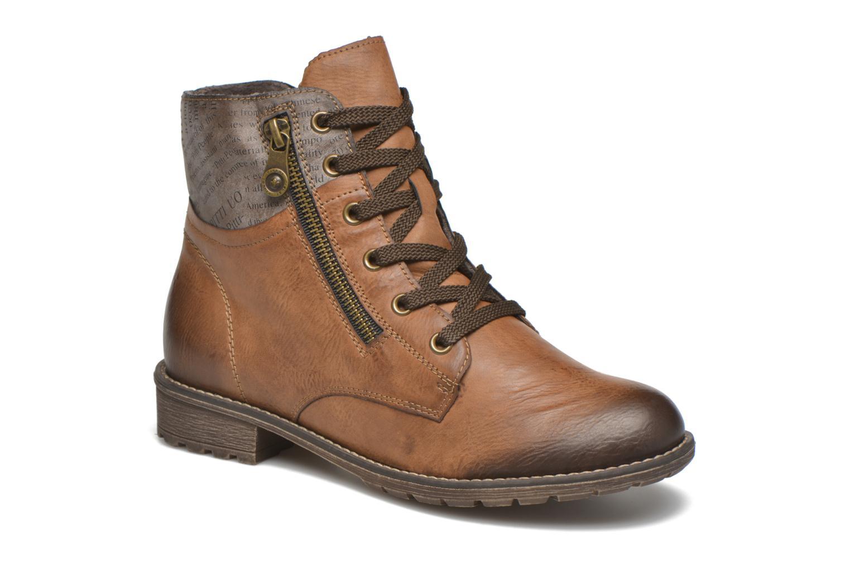 Bottines et boots Rieker Lea K3468 Marron vue détail/paire