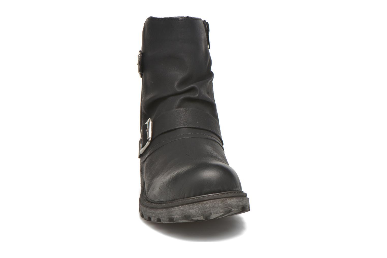 Stiefeletten & Boots Rieker Eli K7477 schwarz schuhe getragen