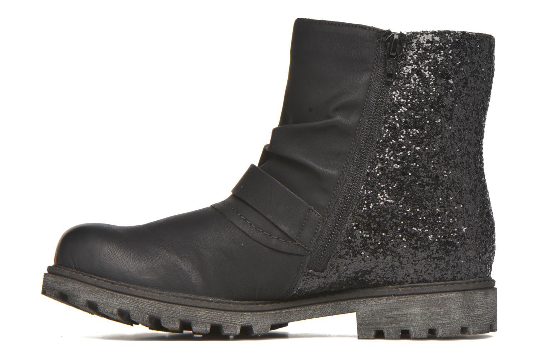 Boots en enkellaarsjes Rieker Eli K7477 Zwart voorkant