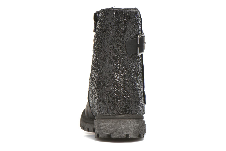 Boots en enkellaarsjes Rieker Eli K7477 Zwart rechts
