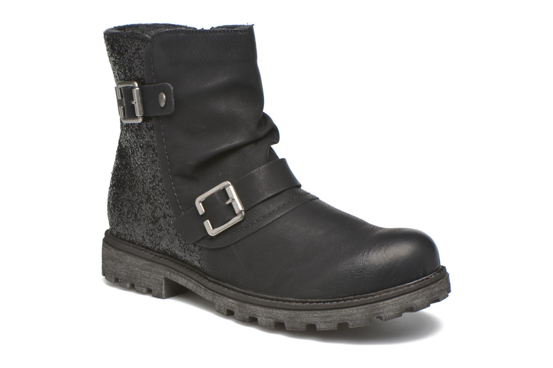 Boots en enkellaarsjes Rieker Eli K7477 Zwart detail