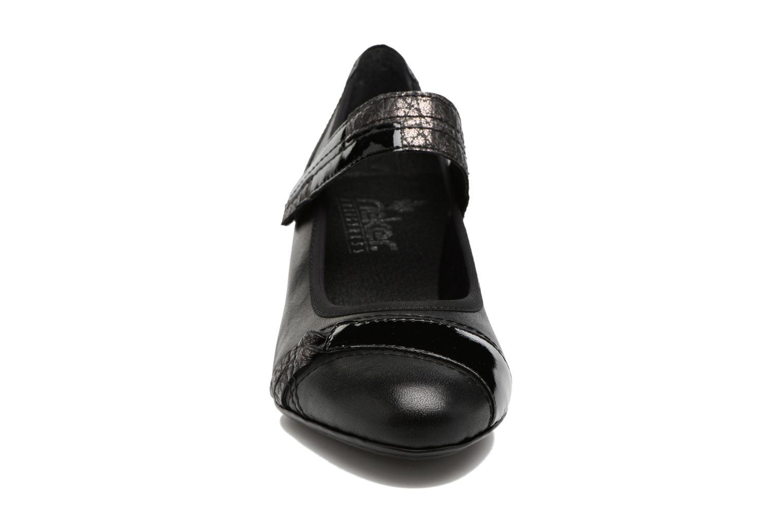 Escarpins Rieker Mimi 45080 Noir vue portées chaussures