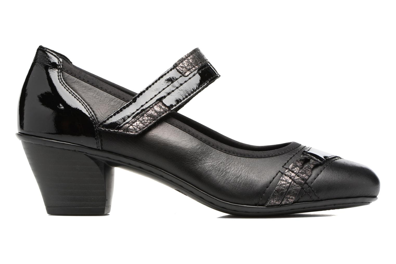 High heels Rieker Mimi 45080 Black back view