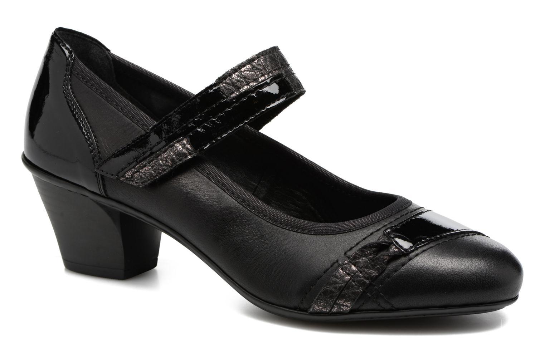High heels Rieker Mimi 45080 Black detailed view/ Pair view