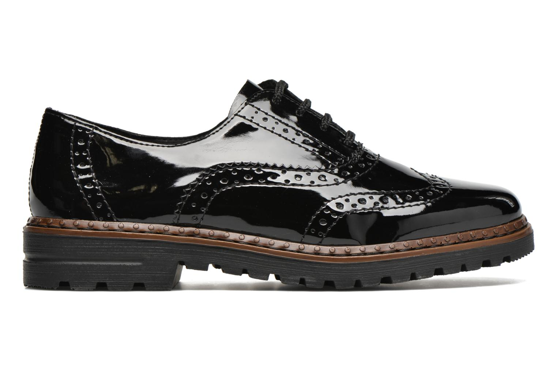 Zapatos con cordones Rieker Lisa 54812 Negro vistra trasera