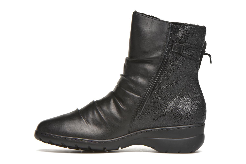 Bottines et boots Rieker Tif Z4362 Noir vue face