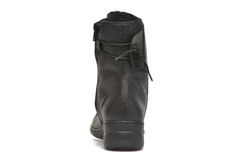 Bottines et boots Rieker Tif Z4362 Noir vue droite