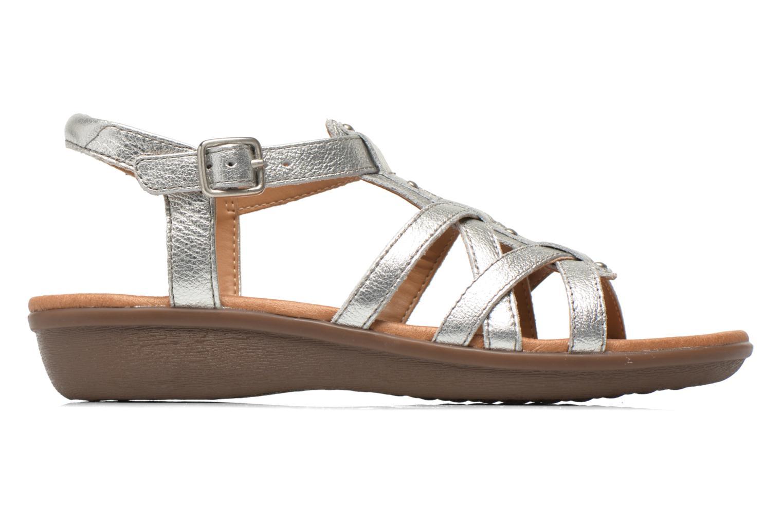 Sandales et nu-pieds Clarks Manilla Bonita Argent vue derrière