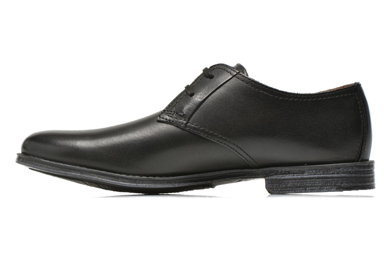 Chaussures à lacets Clarks HawkleyWalk Noir vue face