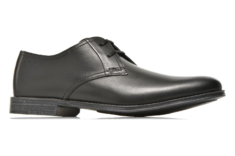 Zapatos con cordones Clarks HawkleyWalk Negro vistra trasera