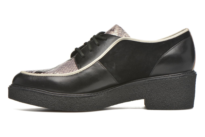Zapatos con cordones What For Yvy Negro vista de frente