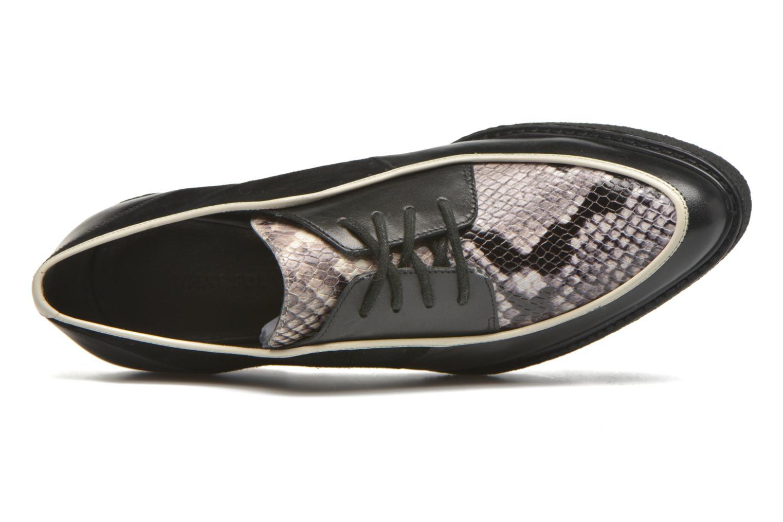 Zapatos con cordones What For Yvy Negro vista lateral izquierda