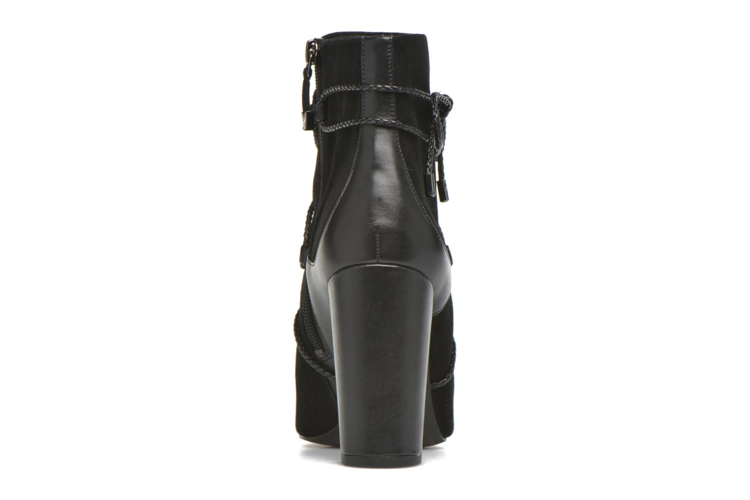 Ankle boots What For Gyle Black view from the right