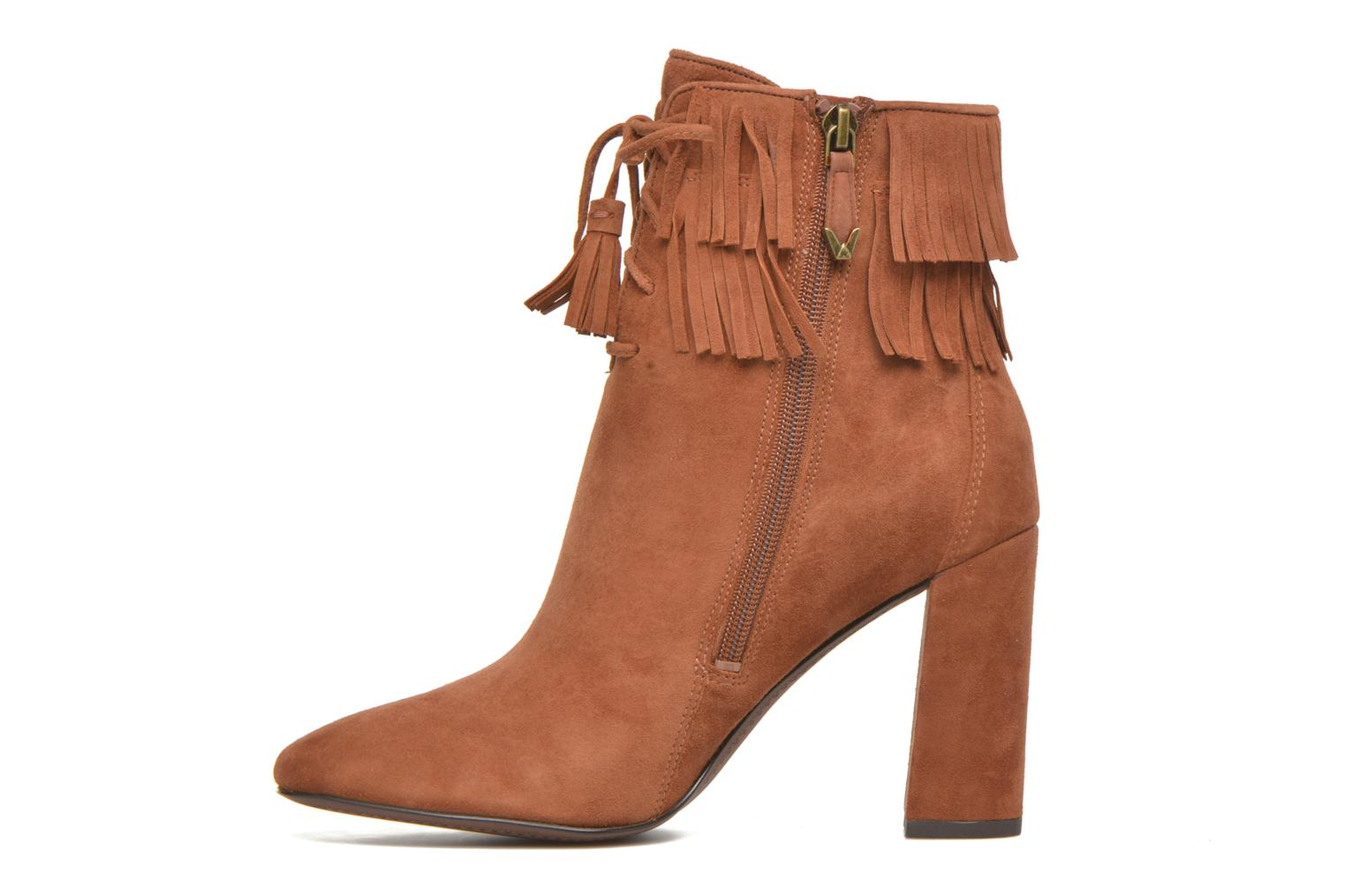 Ankle boots What For Westy Brown front view