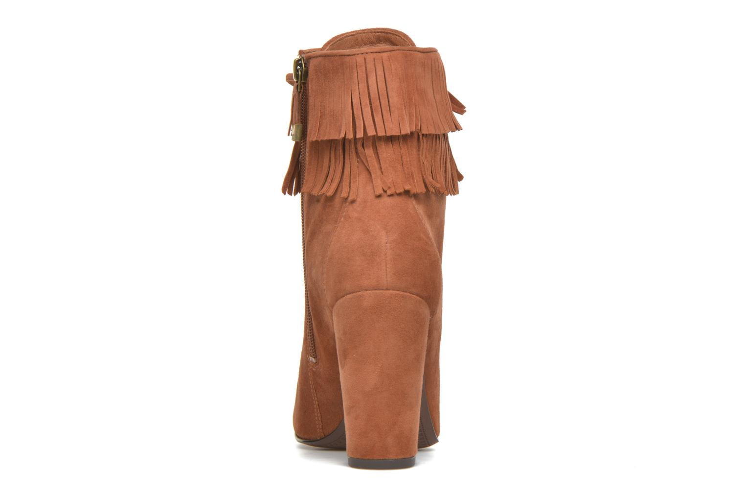Ankle boots What For Westy Brown view from the right