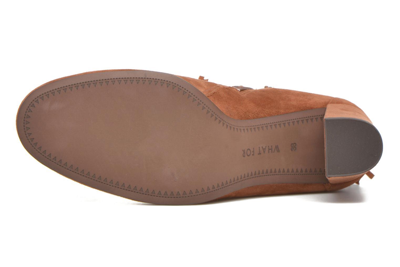 Bottines et boots What For Westy Marron vue haut