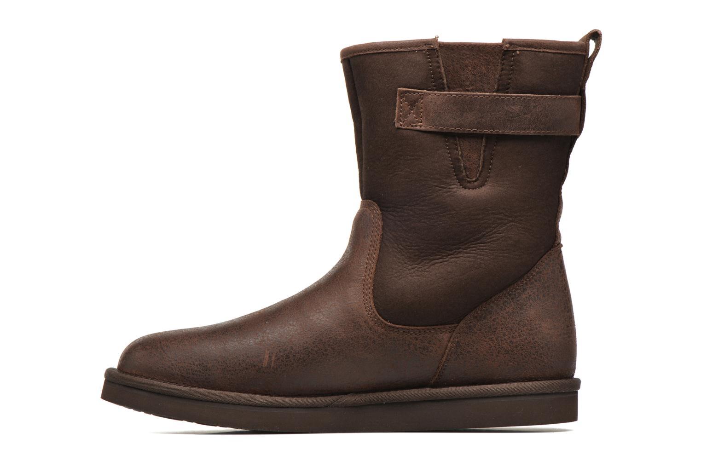 Bottines et boots UGG Guthrie Marron vue face