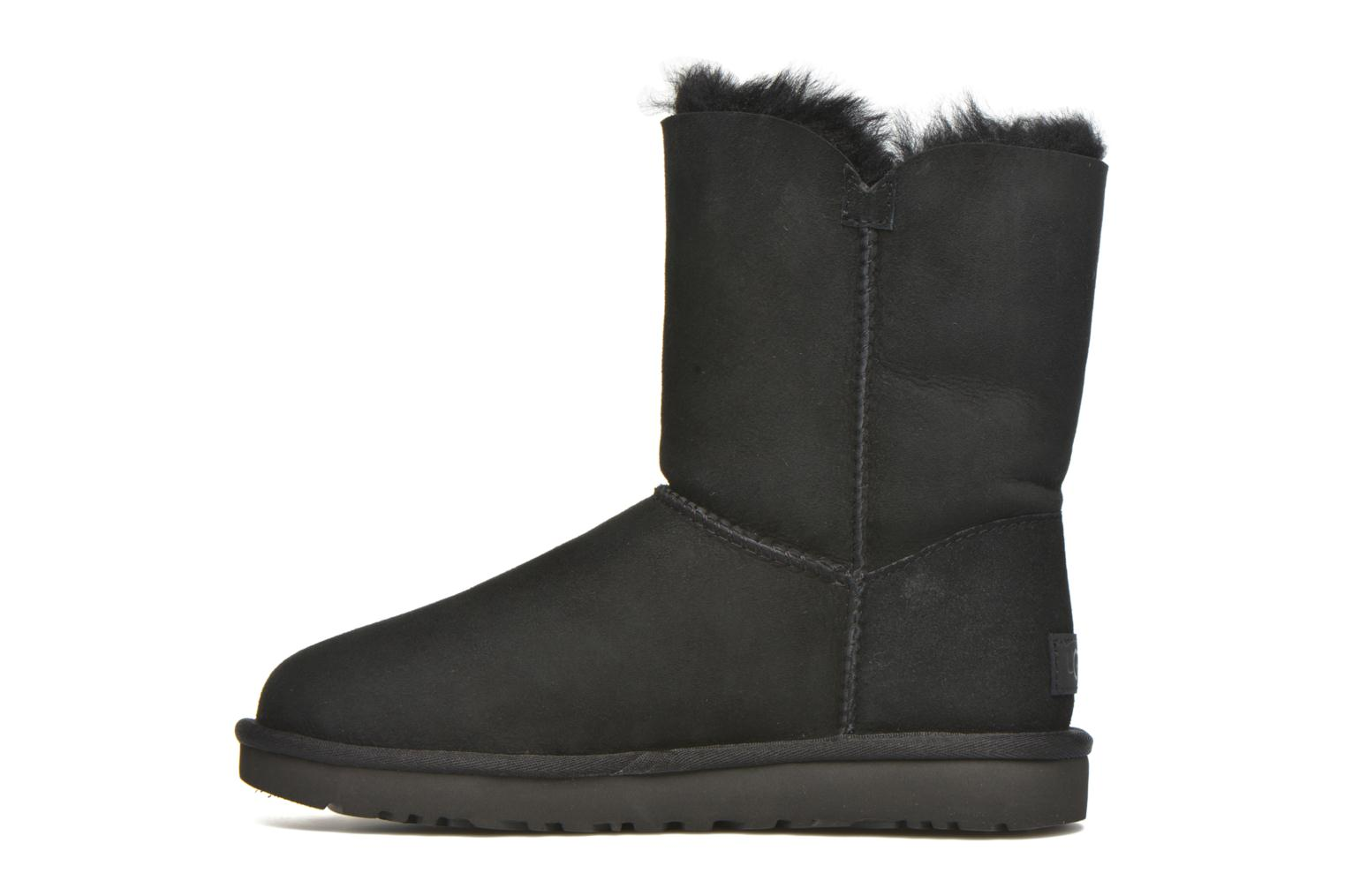 Bottines et boots UGG W Bailey Button II Noir vue face