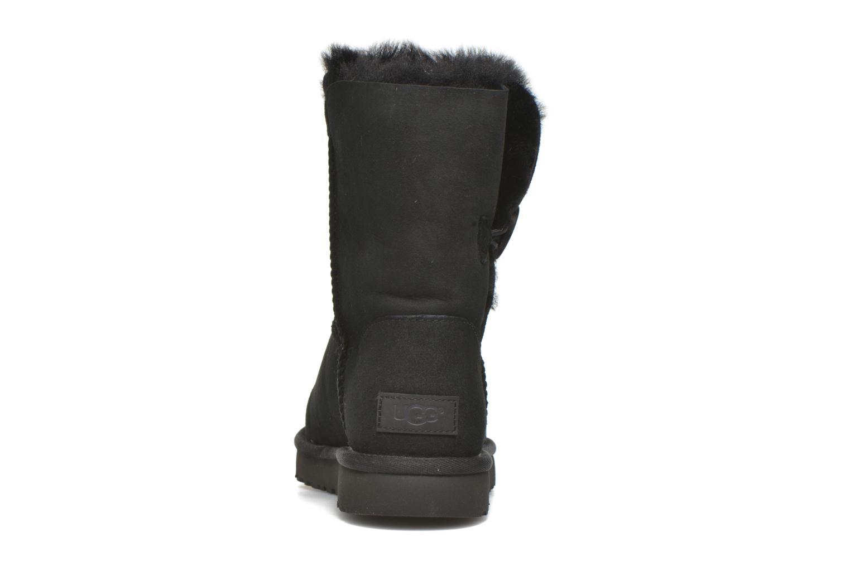 Bottines et boots UGG W Bailey Button II Noir vue droite