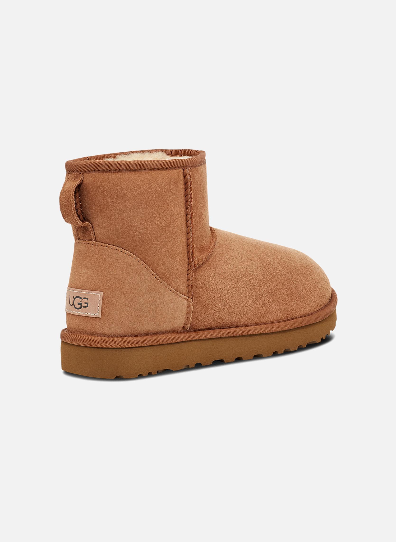 Stiefeletten & Boots UGG W Classic Mini II braun schuhe getragen