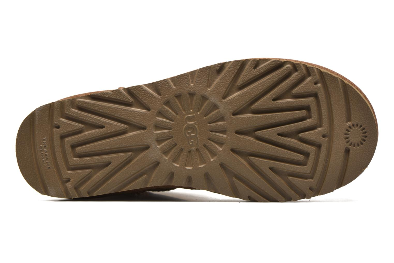Stiefeletten & Boots UGG W Classic Mini II braun ansicht von oben