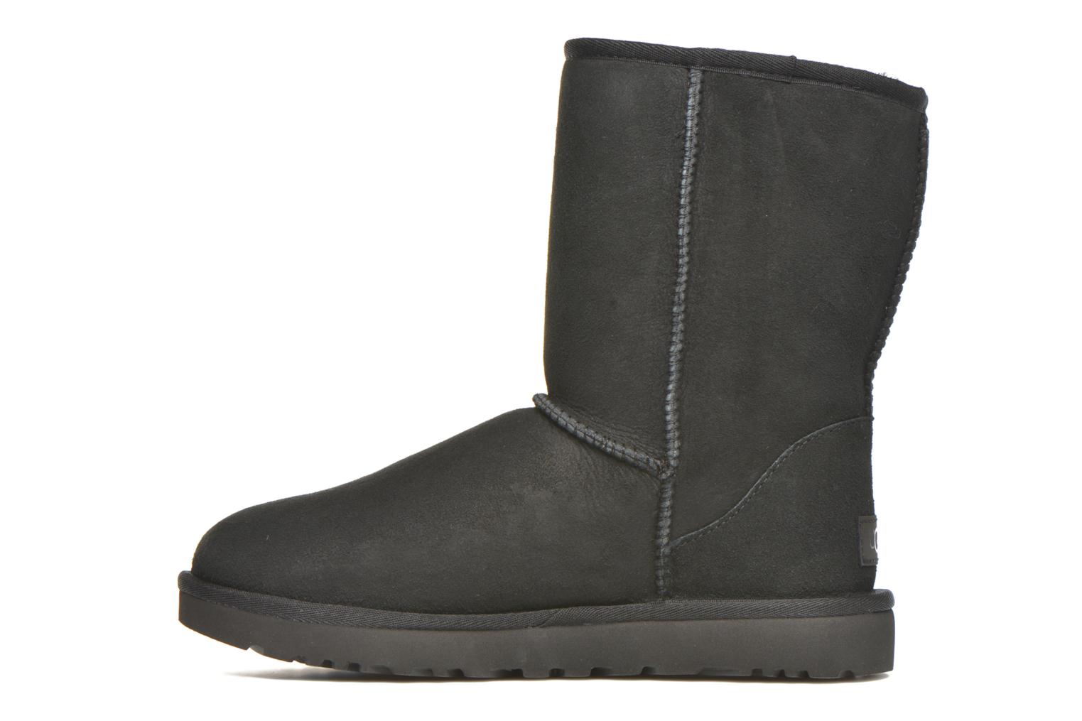 Ankle boots UGG W Classic Short II Black front view