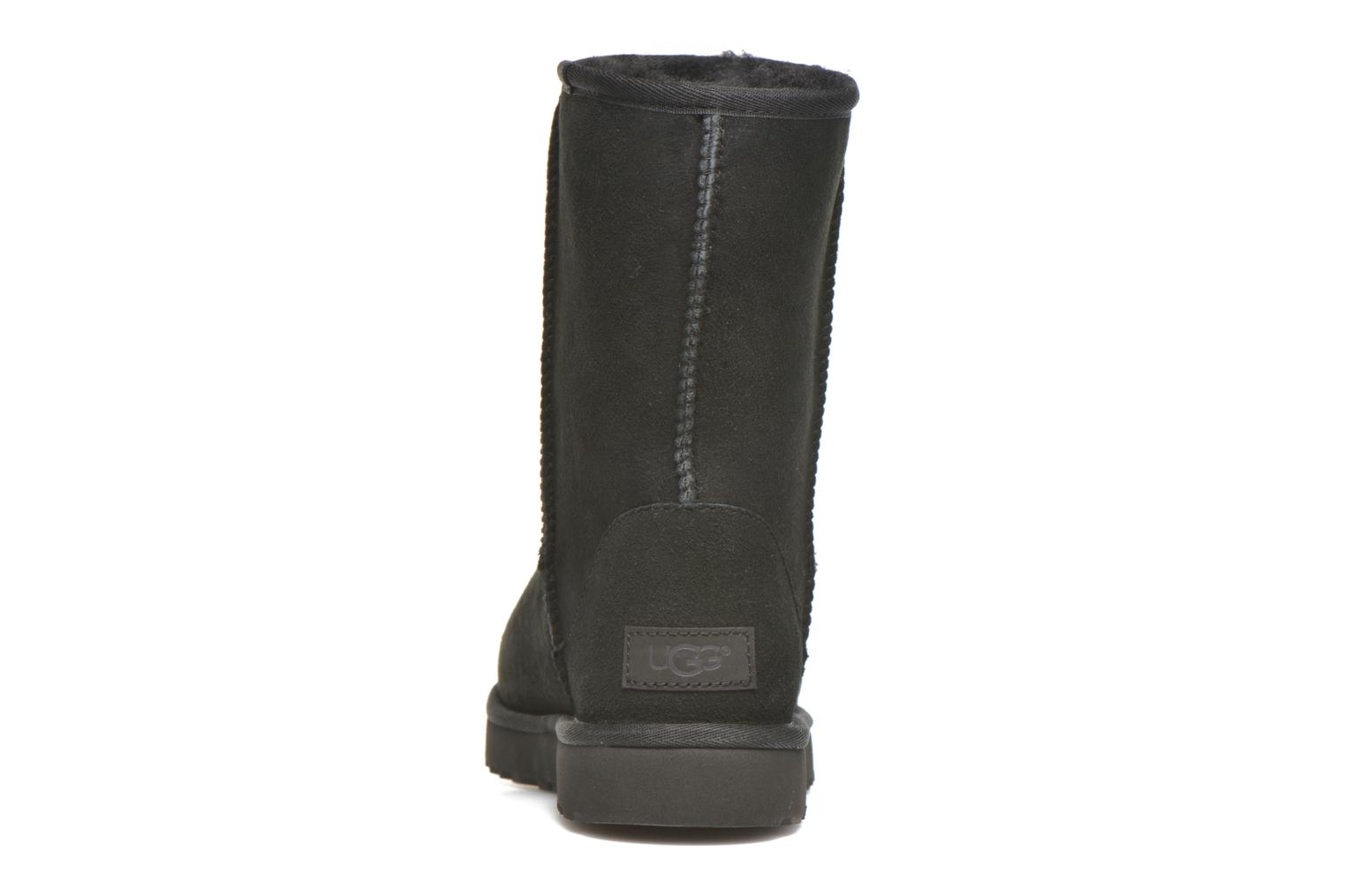 Ankle boots UGG W Classic Short II Black view from the right