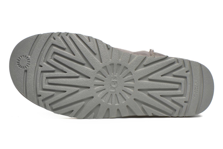 Stiefeletten & Boots UGG W Classic Short II grau ansicht von oben