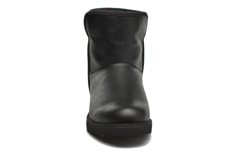W Cory Leather Black