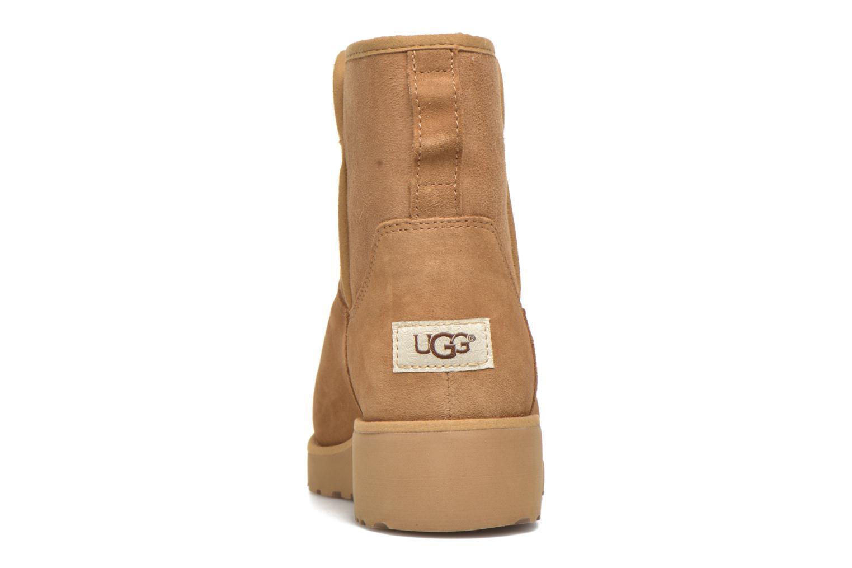 Bottines et boots UGG W Kristin Marron vue droite