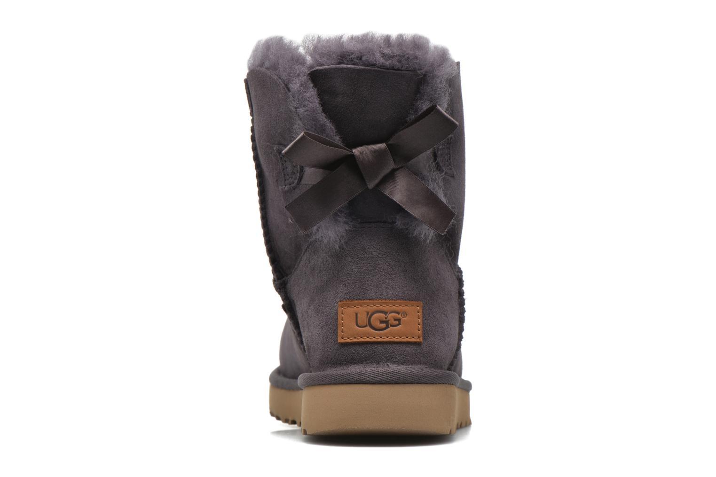 Bottines et boots UGG W Mini Bailey Bow II Violet vue droite
