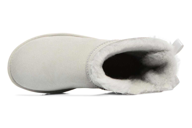 Stiefeletten & Boots UGG W Mini Bailey Bow II grau ansicht von links