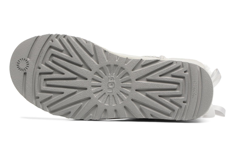 Stiefeletten & Boots UGG W Mini Bailey Bow II grau ansicht von oben