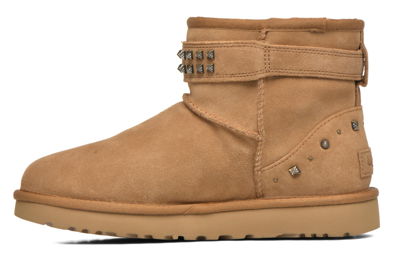 Bottines et boots UGG W Neva Deco Studs Marron vue face
