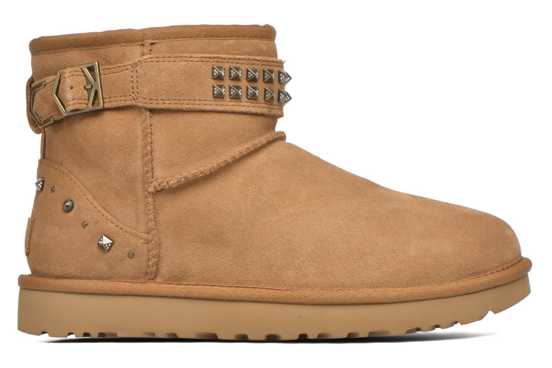 Stiefeletten & Boots UGG W Neva Deco Studs braun ansicht von hinten