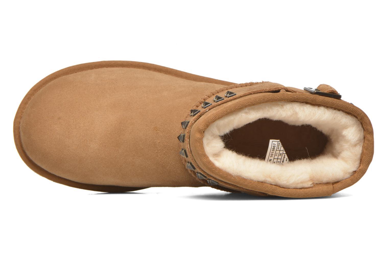Bottines et boots UGG W Neva Deco Studs Marron vue gauche