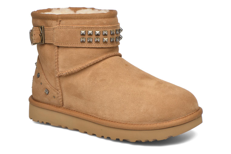 Bottines et boots UGG W Neva Deco Studs Marron vue détail/paire