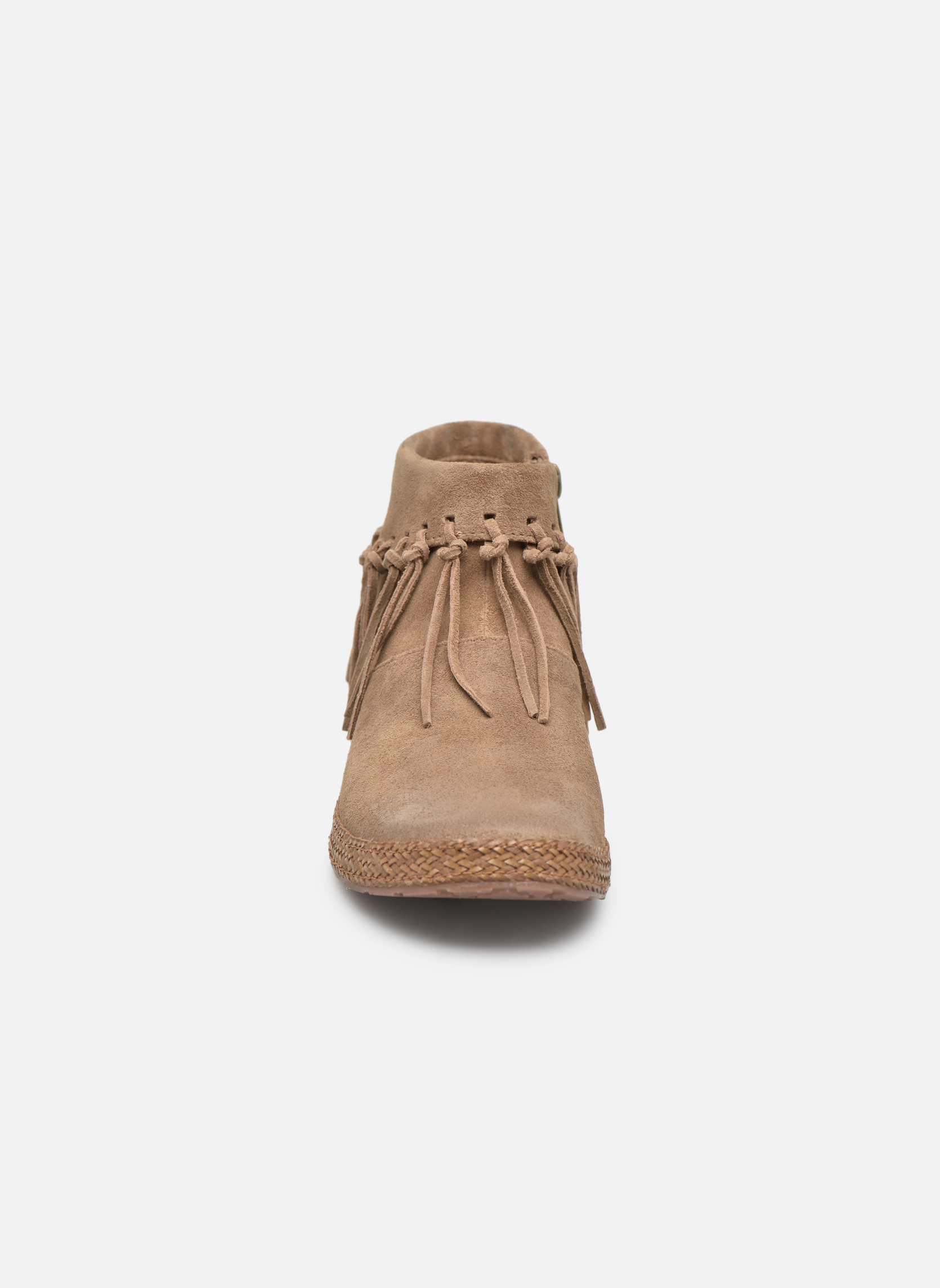 Bottines et boots UGG W Shenendoah Marron vue portées chaussures