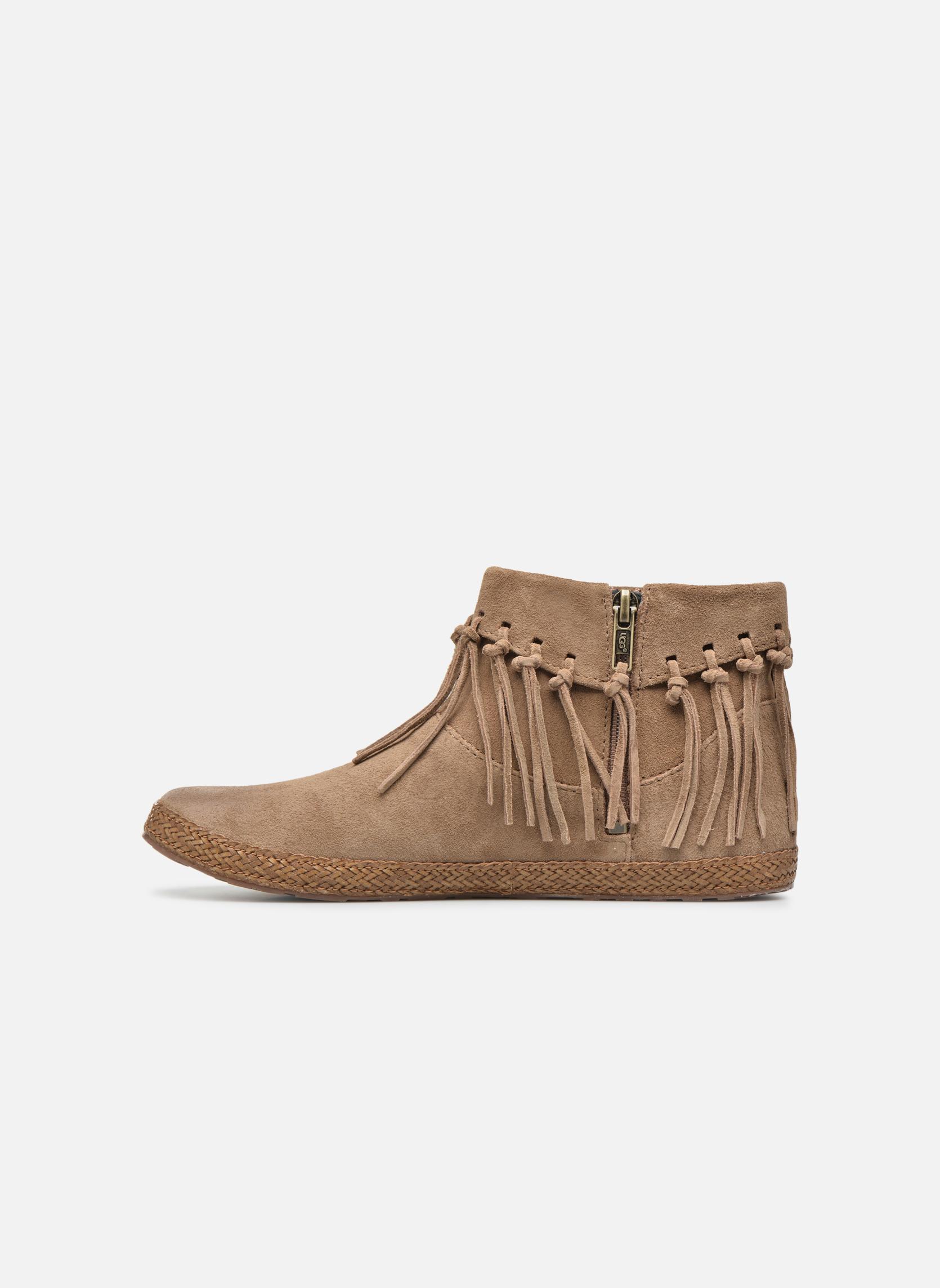Bottines et boots UGG W Shenendoah Marron vue face