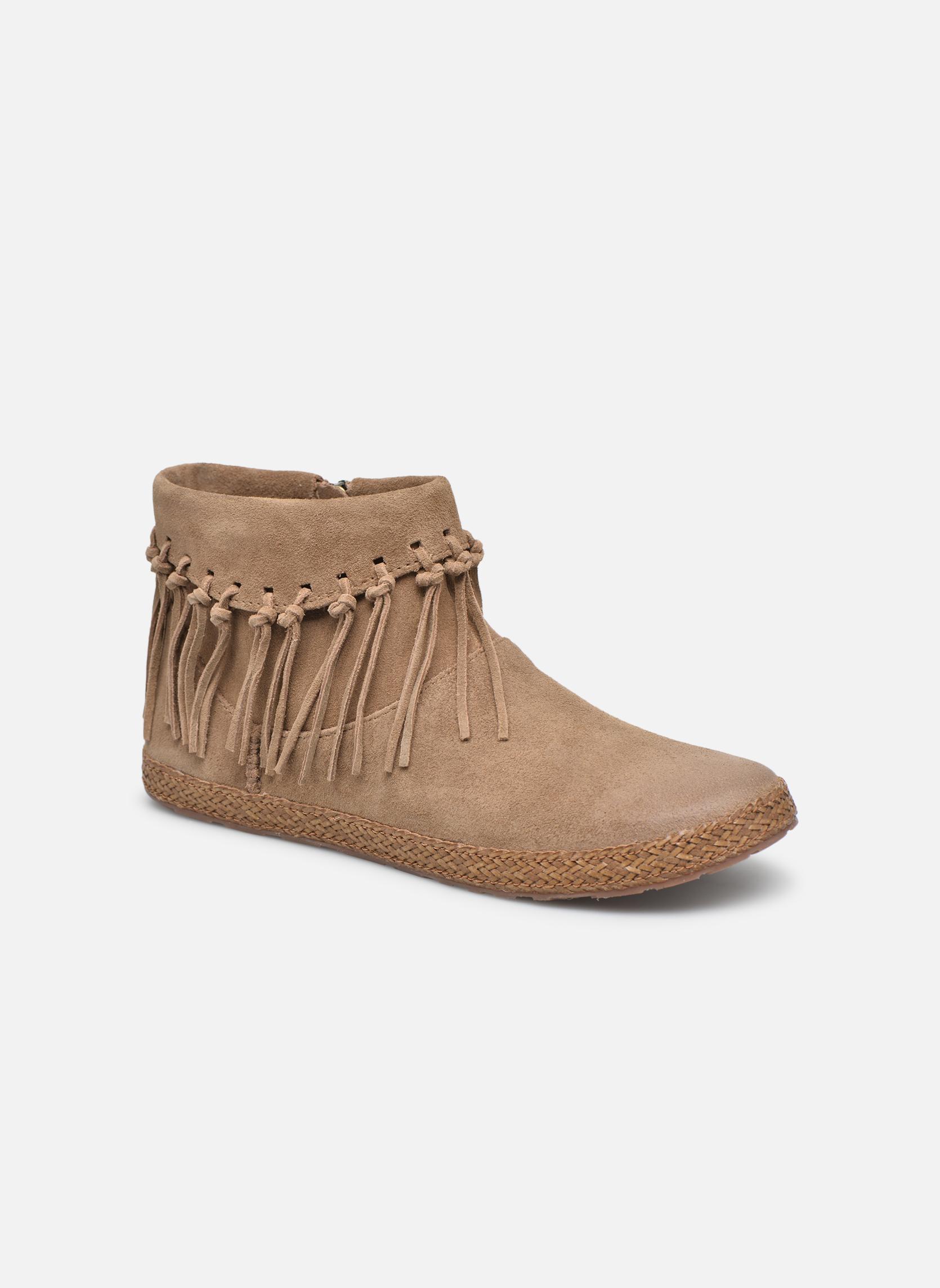 Bottines et boots UGG W Shenendoah Marron vue détail/paire