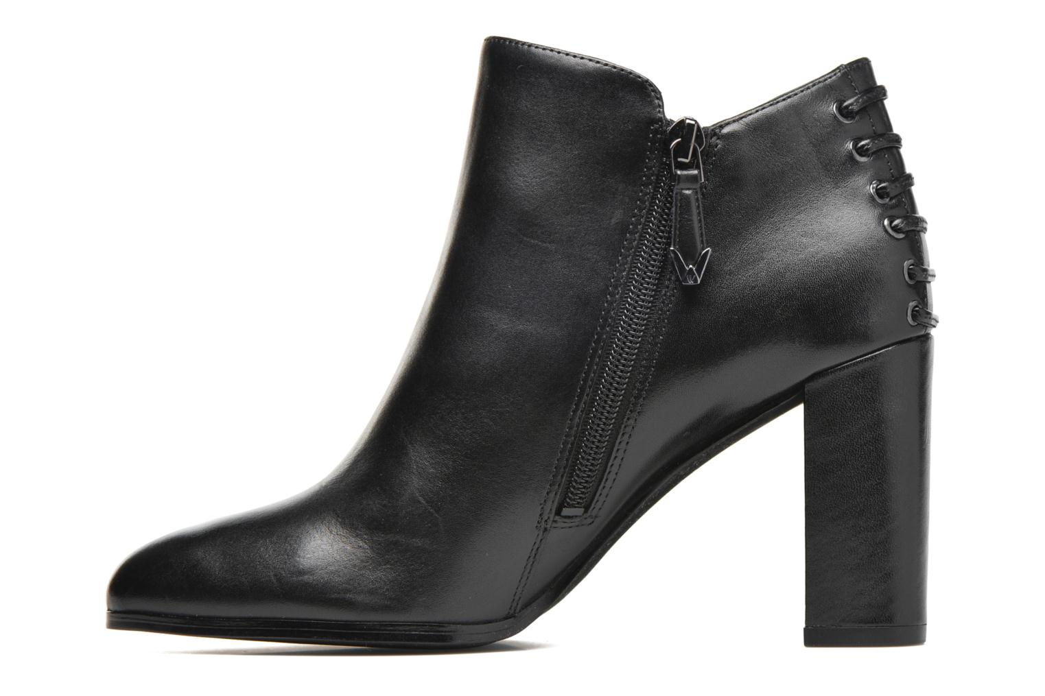Ankle boots What For Ytienne Black front view